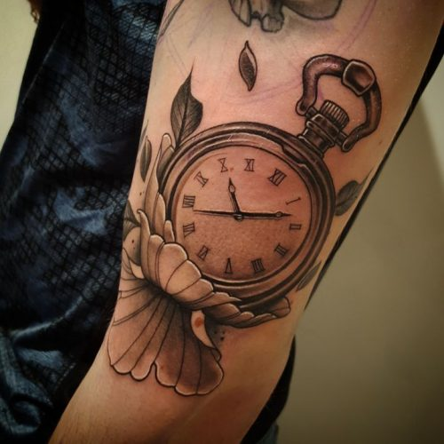 Jem D. Marshall - Tatouage - Montre