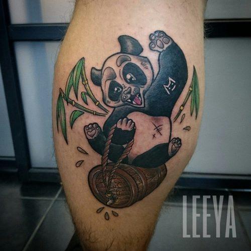 Leeya - Tatouage - Panda