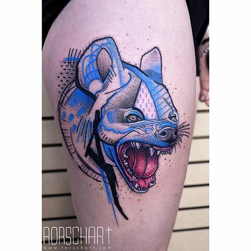 blue-hyena