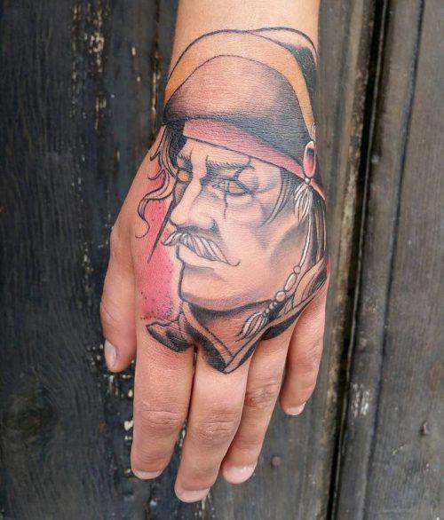 Jem D. Marshall - Tatouage - Portrait